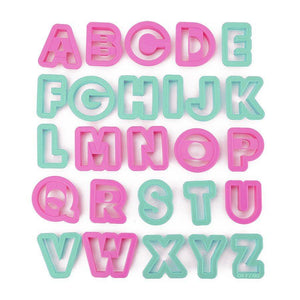 Alphabet Pastry & Cookie Cutter Set NY Cake Cookie Cutter - Bake Supply Plus