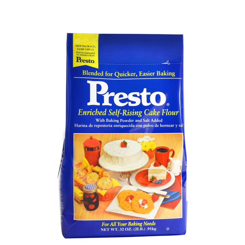 Presto Self Rising Flour — All Sizes Presto Flour - Bake Supply Plus