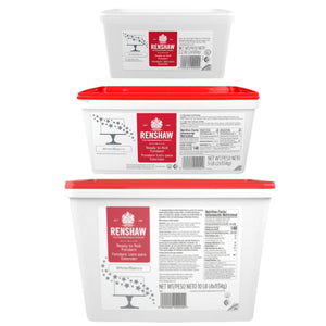 Renshaw White Fondant - 2, 5, & 10 lb Renshaw Fondnat - Bake Supply Plus