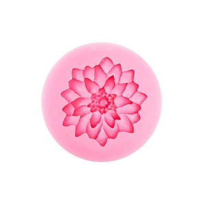 Carnation or Dahlia Silicone Mold NY Cake Silicone Mold - Bake Supply Plus
