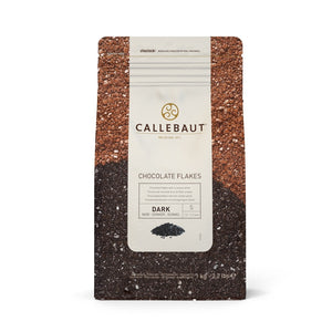 Callebaut Flakes 1kg Sweet Dark Chocolate Callebaut Chocolate Topping - Bake Supply Plus