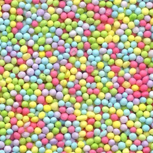 CK Tiny Nonpareils Pastel 4 oz/16 oz CK Products Sprinkles - Bake Supply Plus
