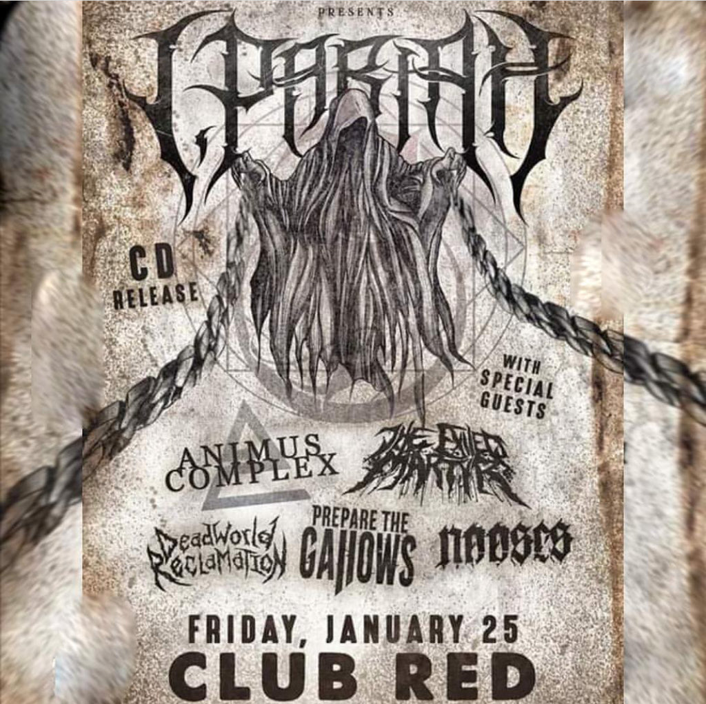 I, Pariah CD Release All Ages Show - January 25