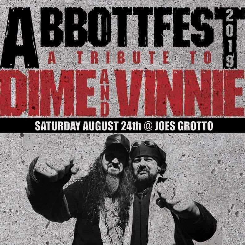 AUGUST 24, 2019 ABBOTT FEST at Joe's Grotto