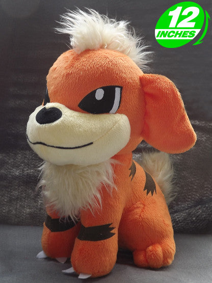 Pokemon Growlithe Plush Doll PNPL4056 - Anime Wholesale From China