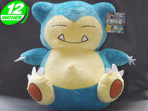 Pokemon Snorlax Plush Doll PNPL6068 - Anime Wholesale From China