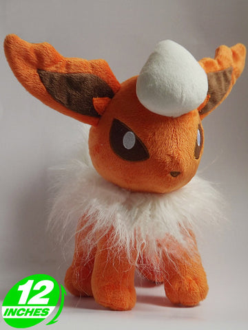 Pokemon Flareon Plush Doll PNPL8084 - Anime Wholesale From China