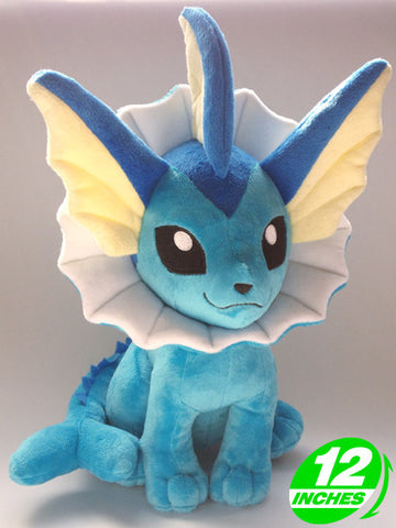 Pokemon Vaporeon Plush Doll PNPL8143 - Anime Wholesale From China