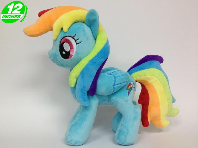 My Little Pony RAINBOW DASH Plush Doll POPL6007 - Anime Wholesale From China