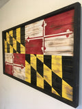 Charred Maryland Flag
