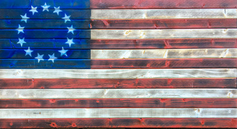 "Rustic ""Old Glory"""