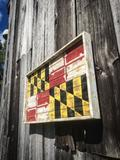Extra Large Charred Maryland Flag