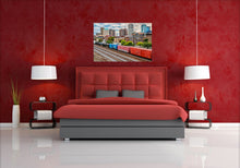 Load image into Gallery viewer, Morris Ave Skyline with Train - Photograph - Birmingham, Alabama