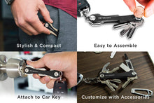 Load image into Gallery viewer, Leather Key Organizer