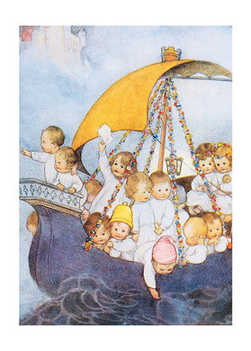 Babies On Sailboat