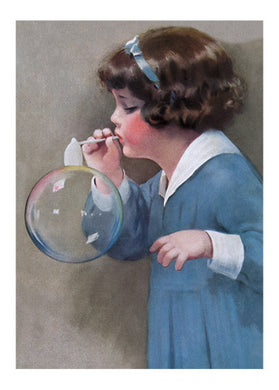 Girl Bubble Blower