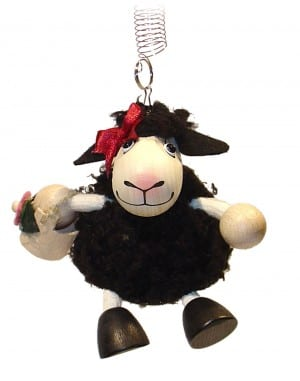 Lamb Girl Black