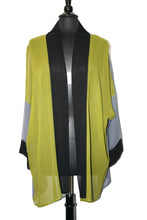 Load image into Gallery viewer, Over-Dyed Jacket Lime/Grey