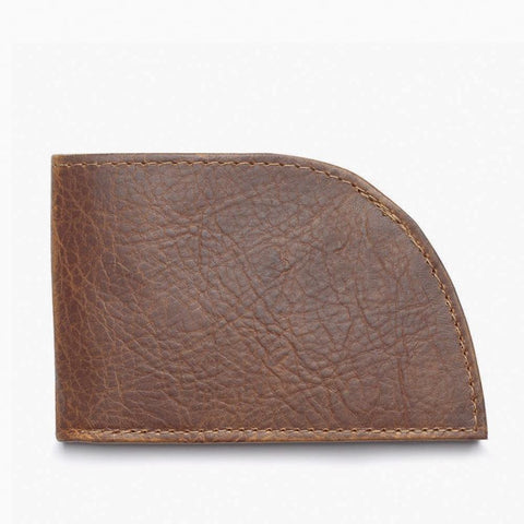 Bison Leather Three Slot