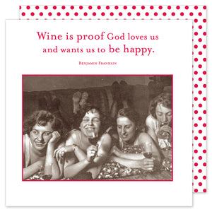 Wine is Proof