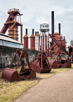 Sloss Buckets - Photography - Birmingham, Alabama