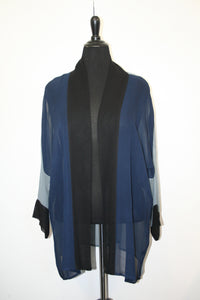 Over-Dyed Jacket Tura/Cobalt