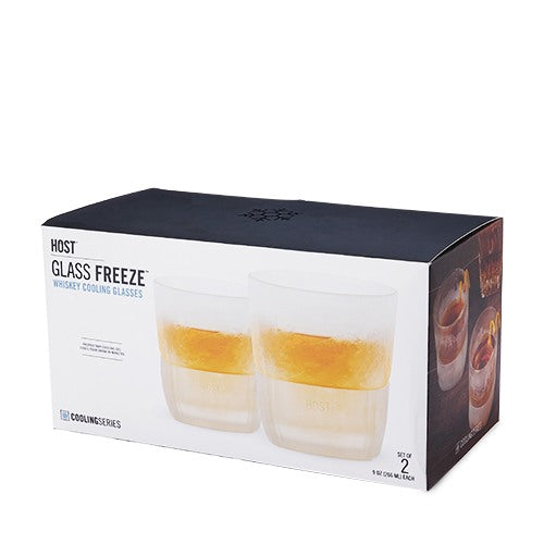 Whiskey Glass Freeze Set 2