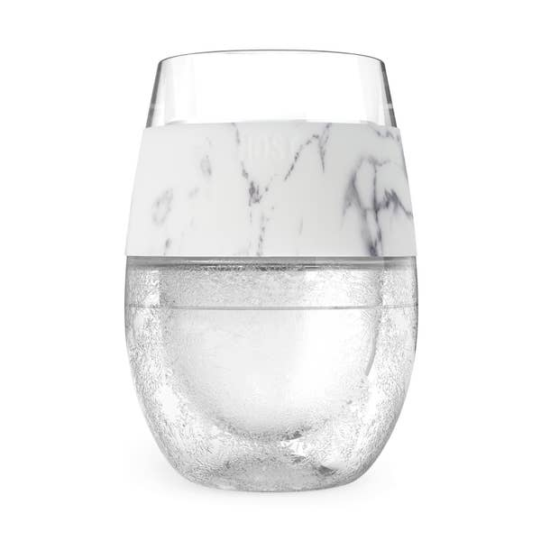 Wine FREEZE Cooling Cup in Marble