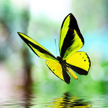 Load image into Gallery viewer, Zen Puzzles - Yellow Butterfly