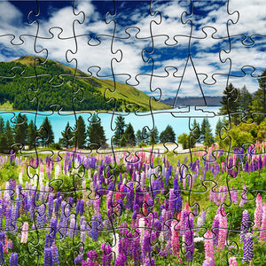 Zen Puzzles - Mountain Lake