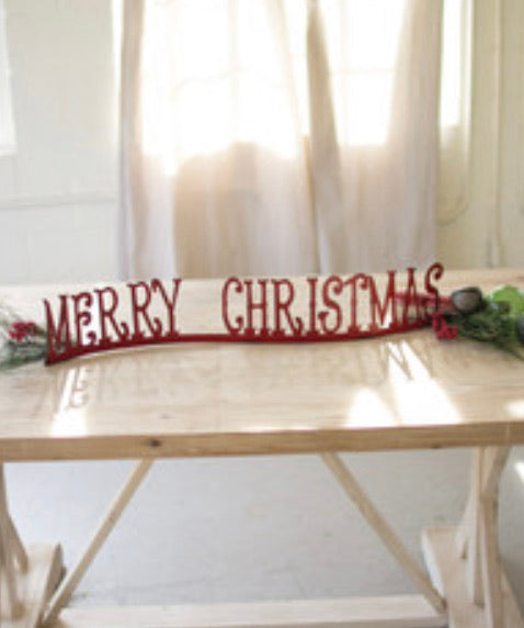 table top/mantle merry christmas