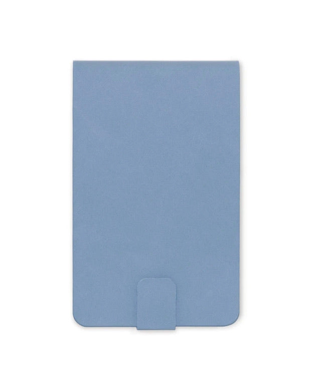 VEGAN LEATHER NOTEPAD | CORNFLOWER BLUE