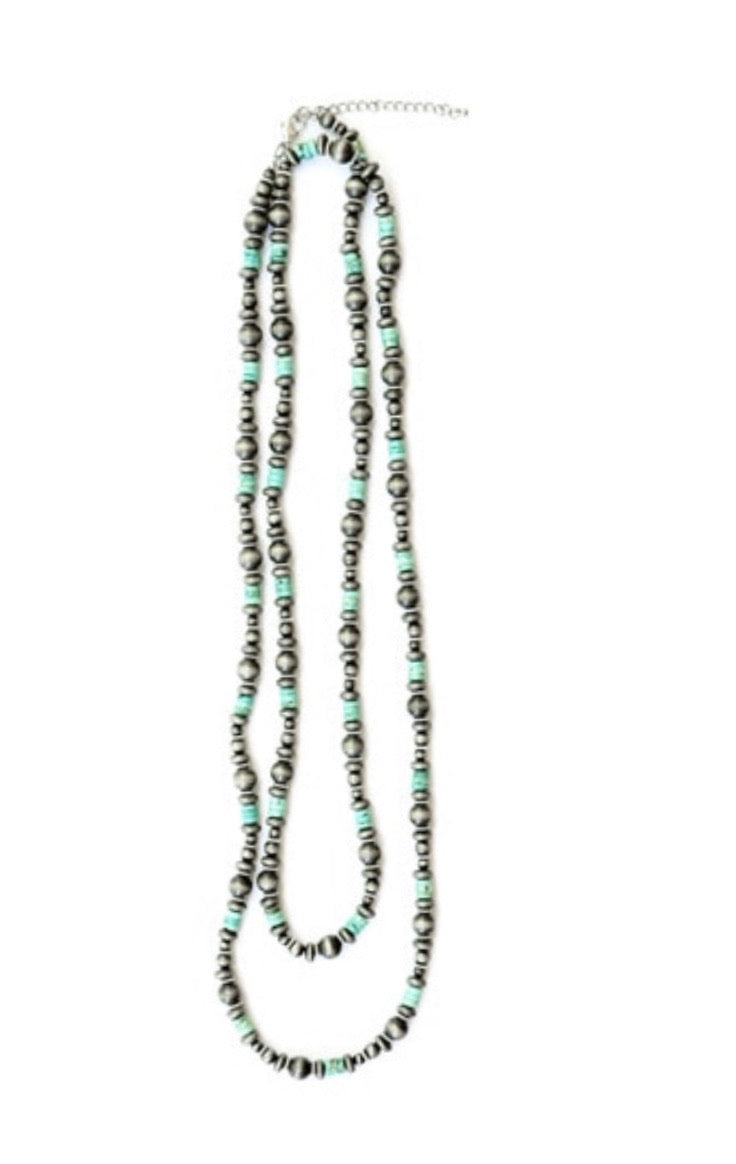 One strand Navajo necklace