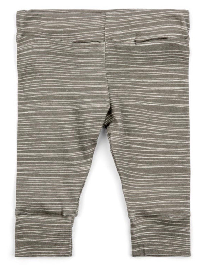 Legging Grey with White Stripe