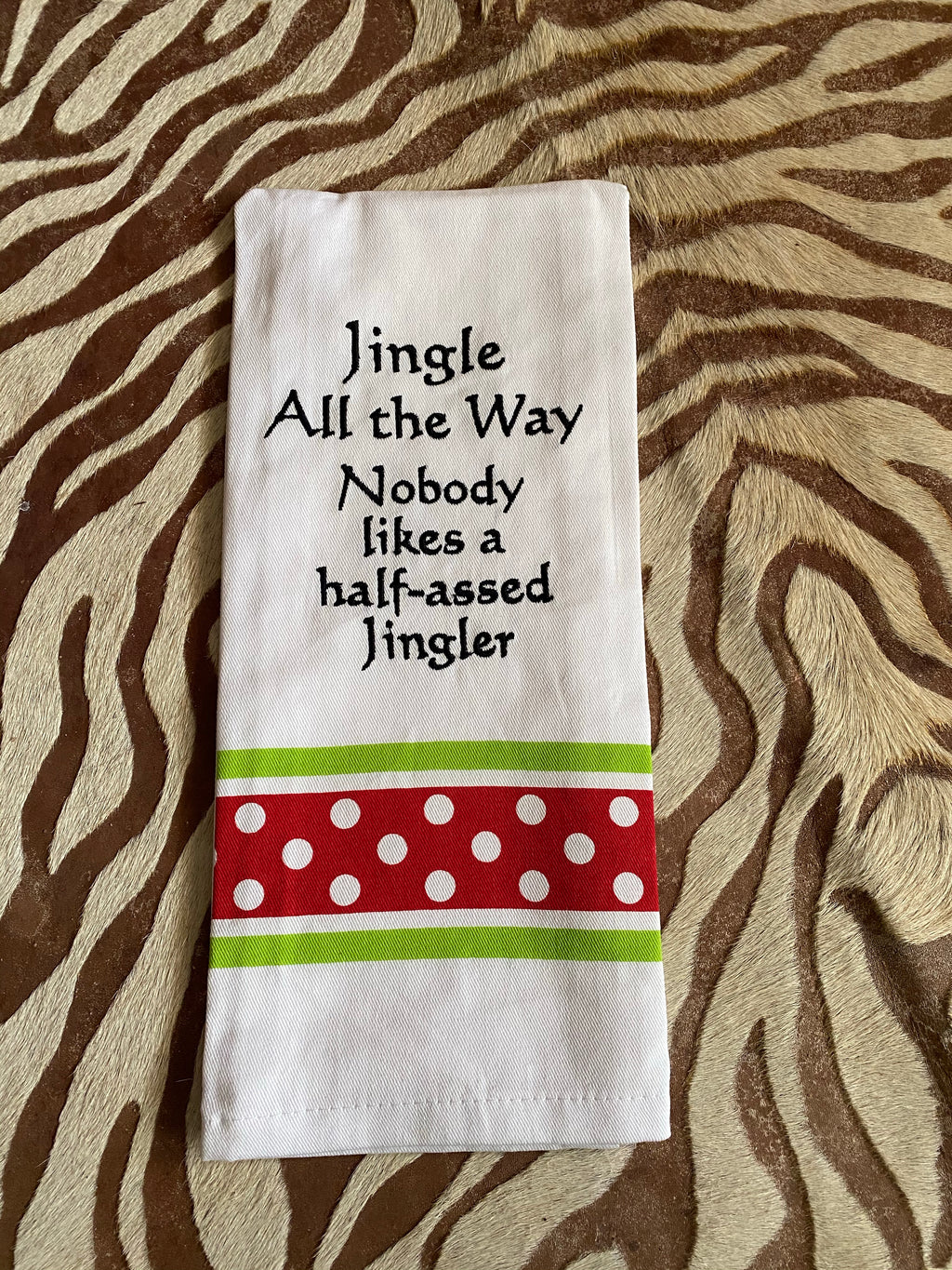 Christmas cup towels