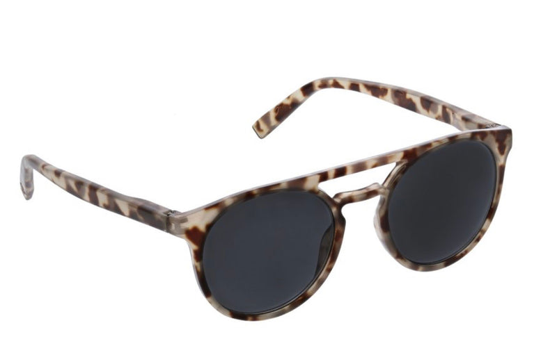 Peepers Beach Vibes Gray Tortoise Sunglasses No Power