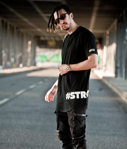 #STRGHT -in all situations- Shirt / Black