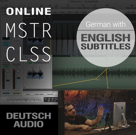 Online Masterclass (Digital, German with English Subtitles)
