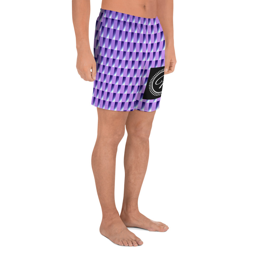 FRILACÈ Men's Square on Squares Shorts