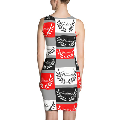 FRILACÈ Women RWB Stamp Dress