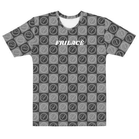 FRILACÈ Men's The Dark Checkers T-shirt