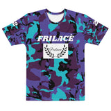 FRILACÈ Men's Purple Drought T-shirt