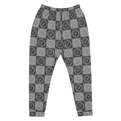FRILACÈ Men's The Grey Chess Board Joggers
