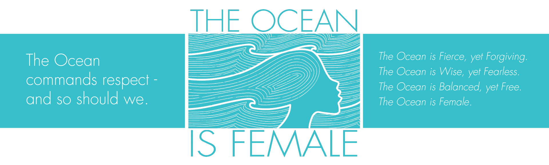 The Ocean Is Female