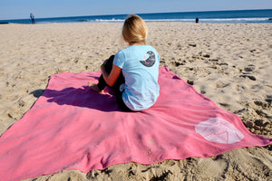 NEW! The OisF All-Day Blanket – Pomegranate Pink