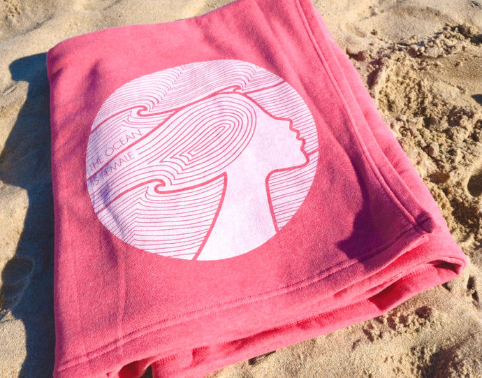 The OisF All-Day Blanket – Pomegranate Pink
