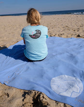 Load image into Gallery viewer, NEW! The OisF All-Day Blanket – Pacific Blue