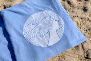 NEW! The OisF All-Day Blanket – Pacific Blue