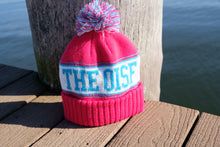 Load image into Gallery viewer, The OisF Pom Pom Beanie (Women/Youth) - Hot Pink
