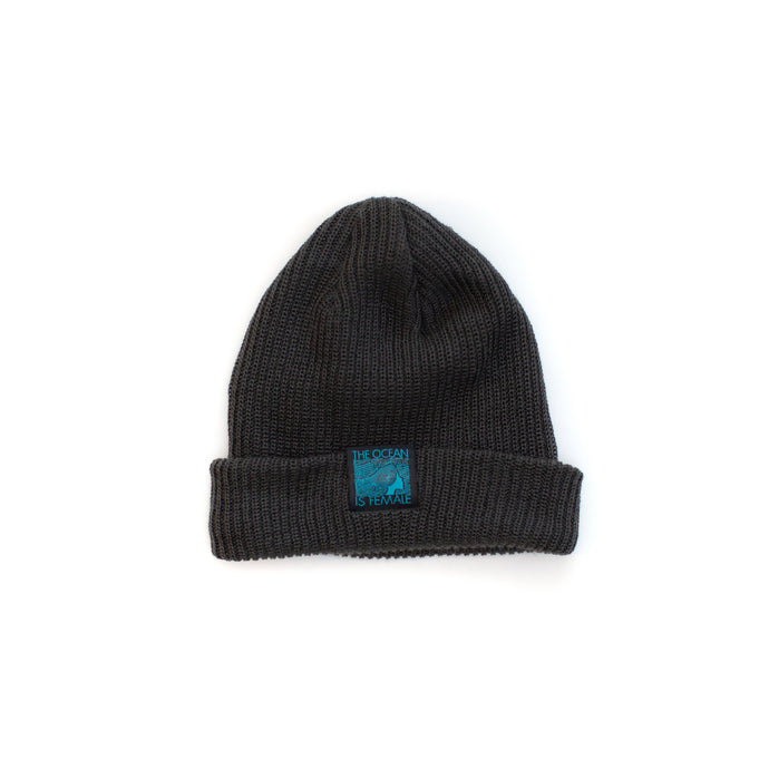The OisF Beanie (Men/Women) Dark Charcoal